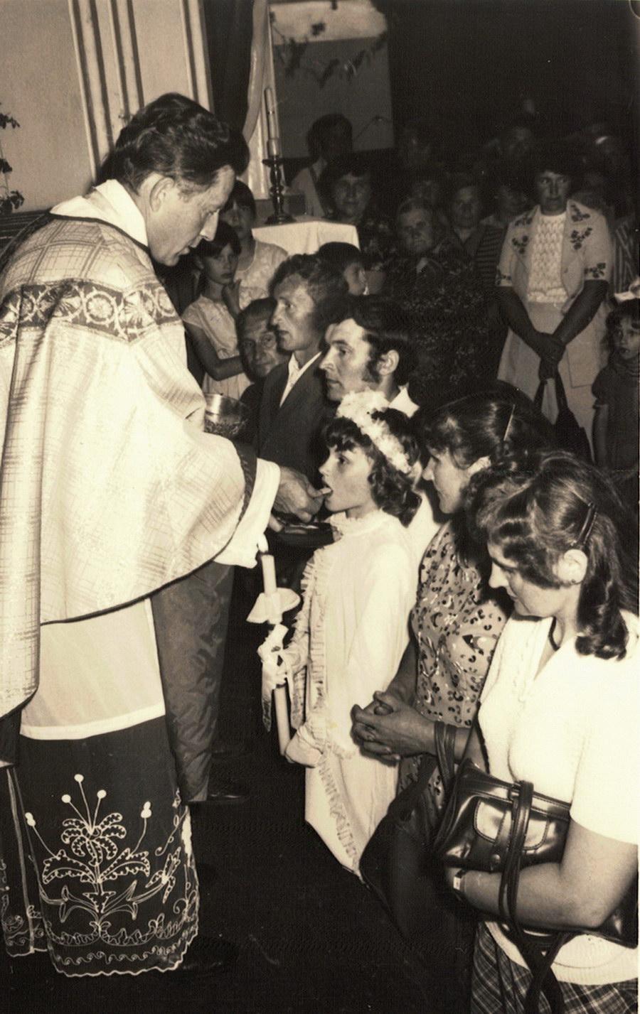 pierwsza komunia św. 1982 r.