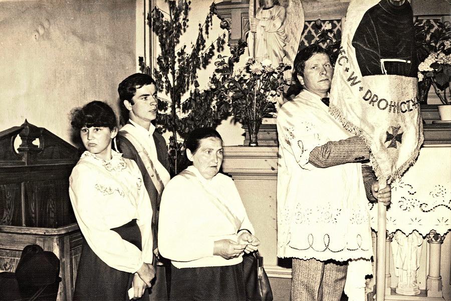 delegacja do sztandaru trzeźwości im. św. Maksymiliana Kolbe