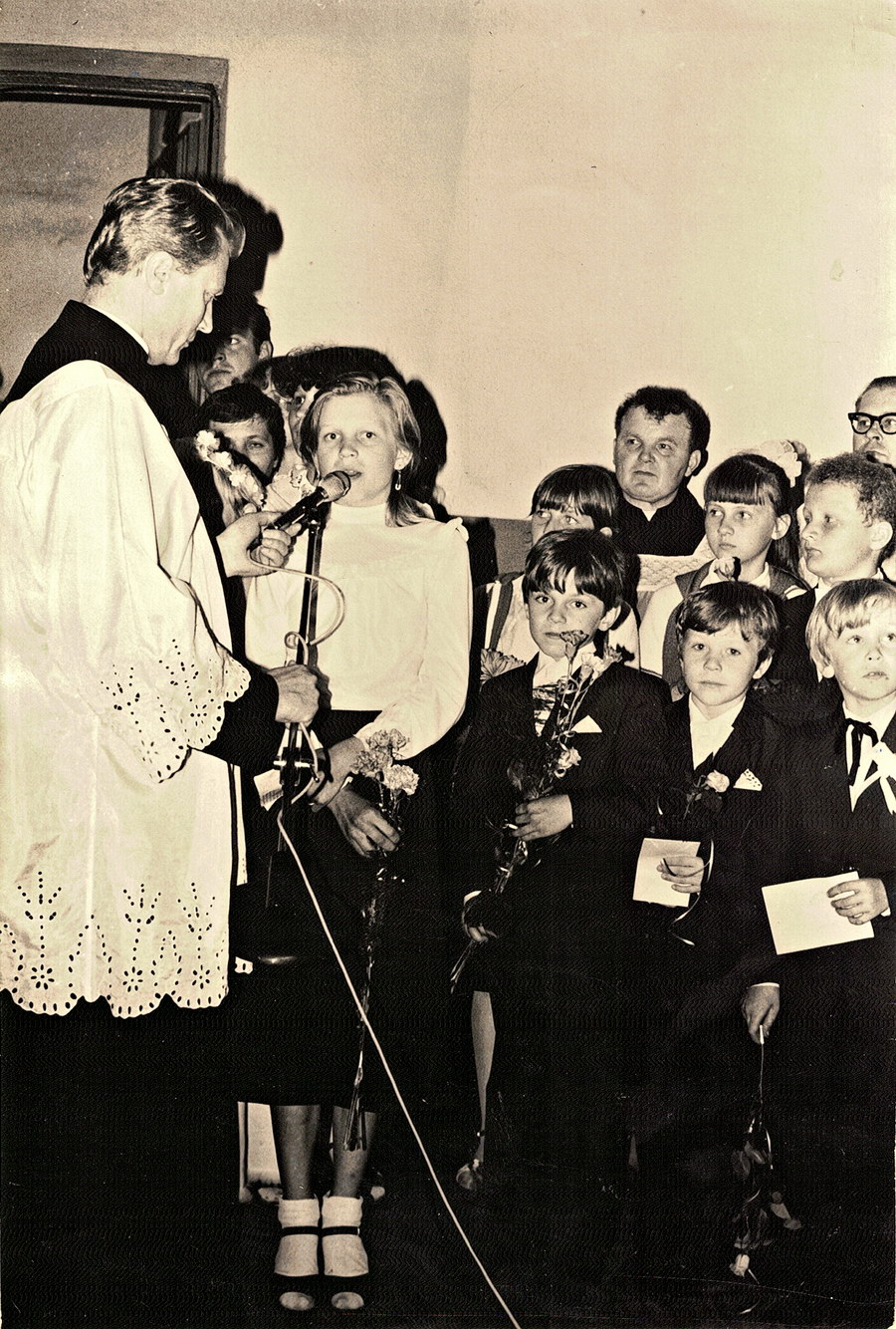 delegacja dzieci i młodzieży
