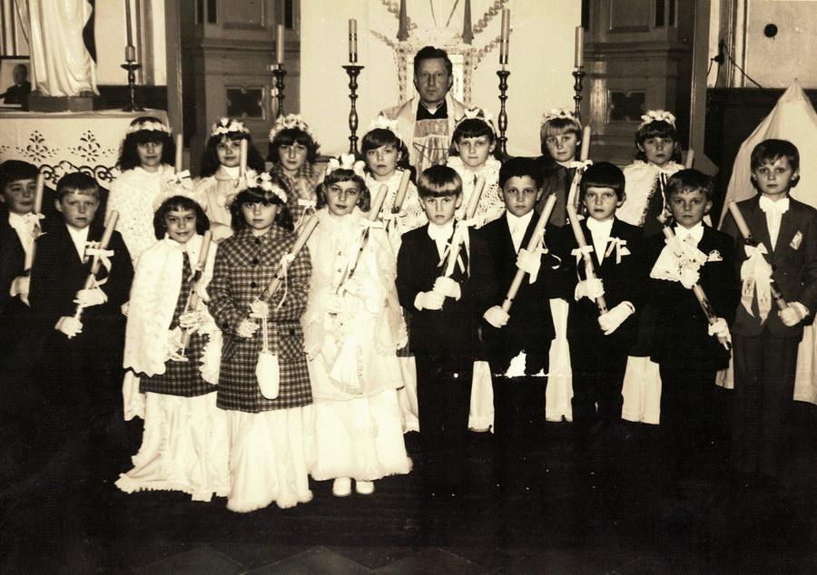 pierwsza komunia św. 1983 r.