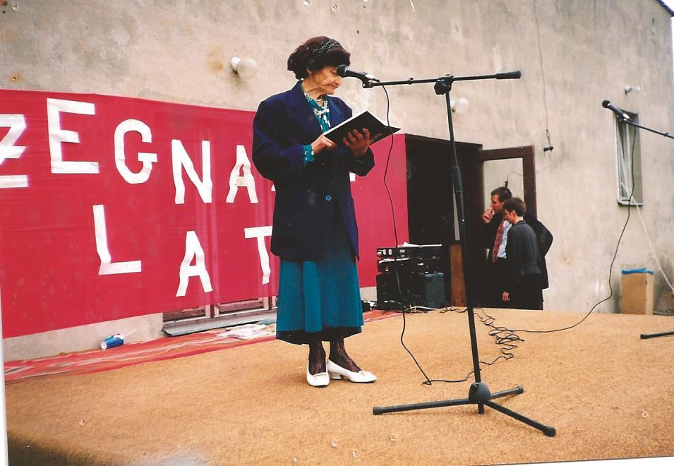 Jedno z ostatnich zdjęć Pani Stanisławy